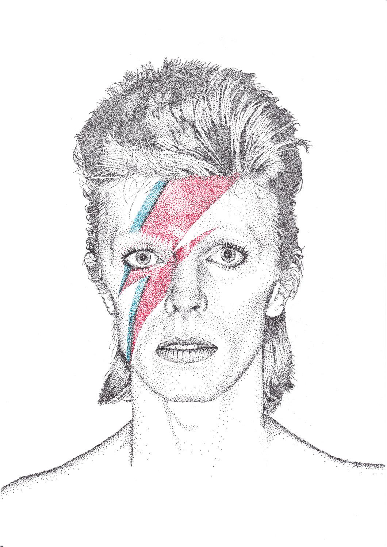 David Bowie Clipart.