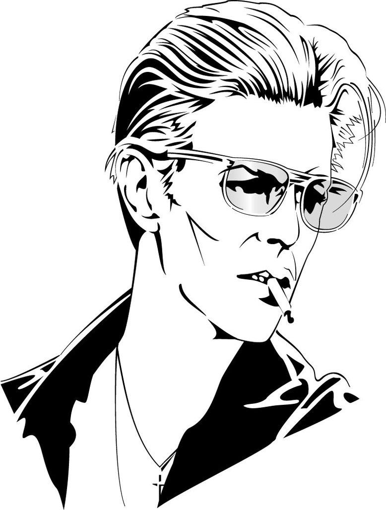 David Bowie Hd Clipart.