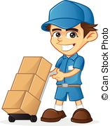 Delivery man Vector Clip Art Royalty Free. 5,738 Delivery man.