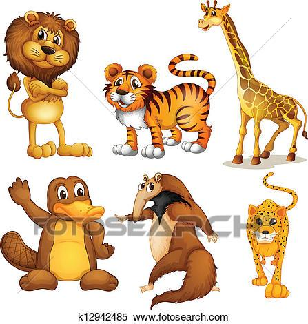 Different animals clipart 5 » Clipart Portal.