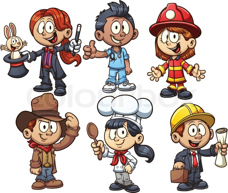 Occupations Clipart For Kids.