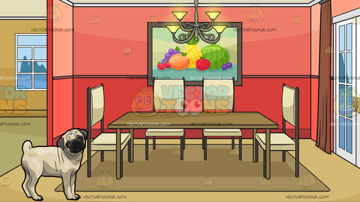 Clipart Dining Room & Free Clip Art Images #18340.