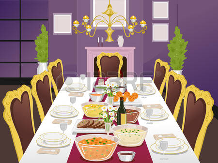 Dining room clipart 7 » Clipart Station.