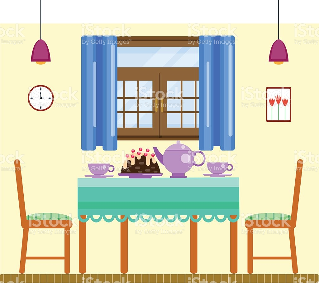 Dining room clipart 5 » Clipart Station.