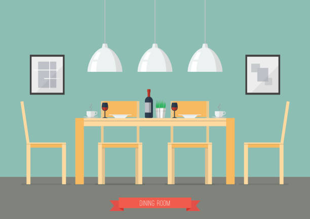 Best Dining Table Illustrations, Royalty.