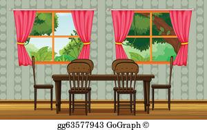Dining Room Clip Art.
