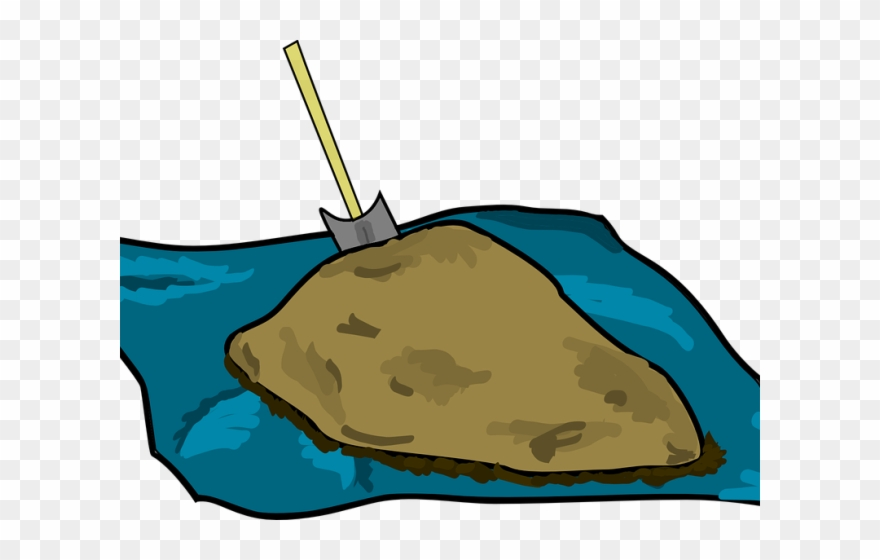 Mud Clipart Dirt Mound.