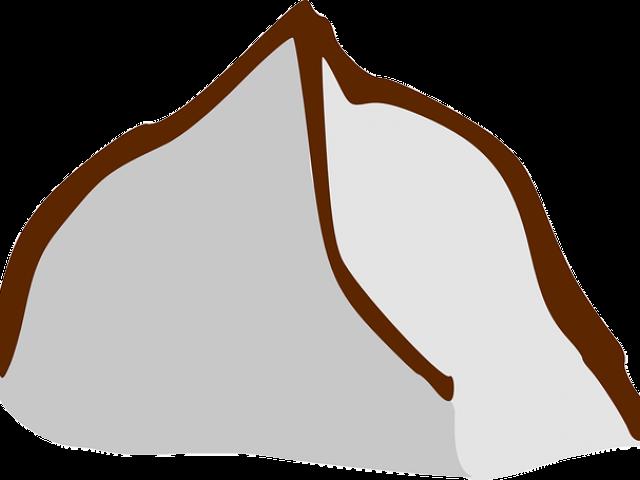 Dirt Clipart Brown Mountain , Transparent Cartoon.