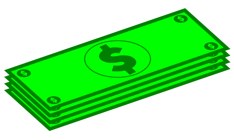 Free Clipart: Dollars.