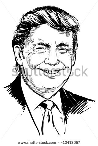 Donald Trump Clip Art Is ., Trump Free Clipart.