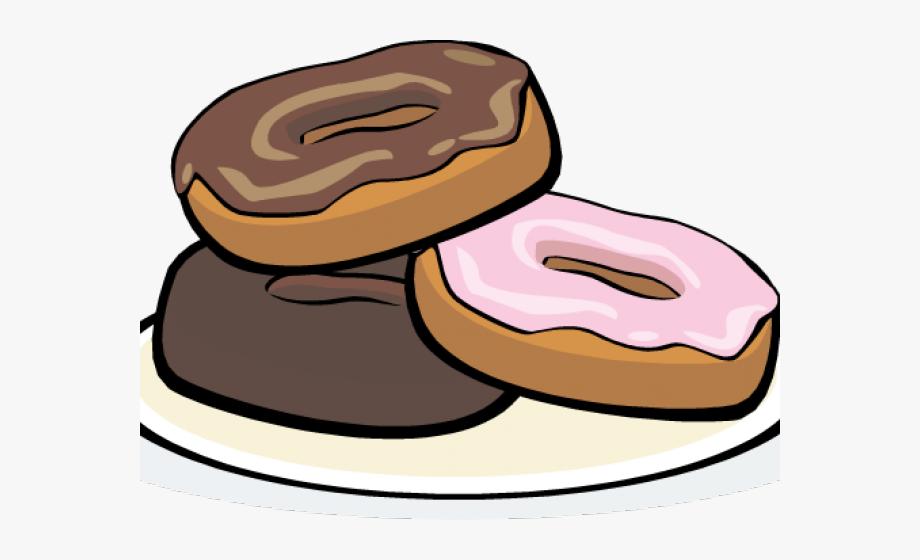 Doughnut Clipart Food Platter.