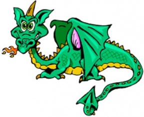 Clipart Of Dragons.