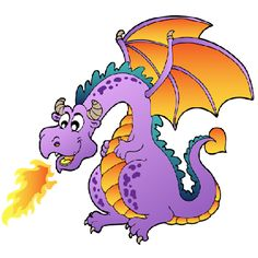 images of cartoon dragons.