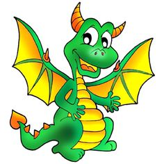 Cute Dragons Cartoon Clip Art Images.All Dragon Cartoon Picture.