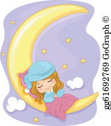Sweet Dreams Clip Art.