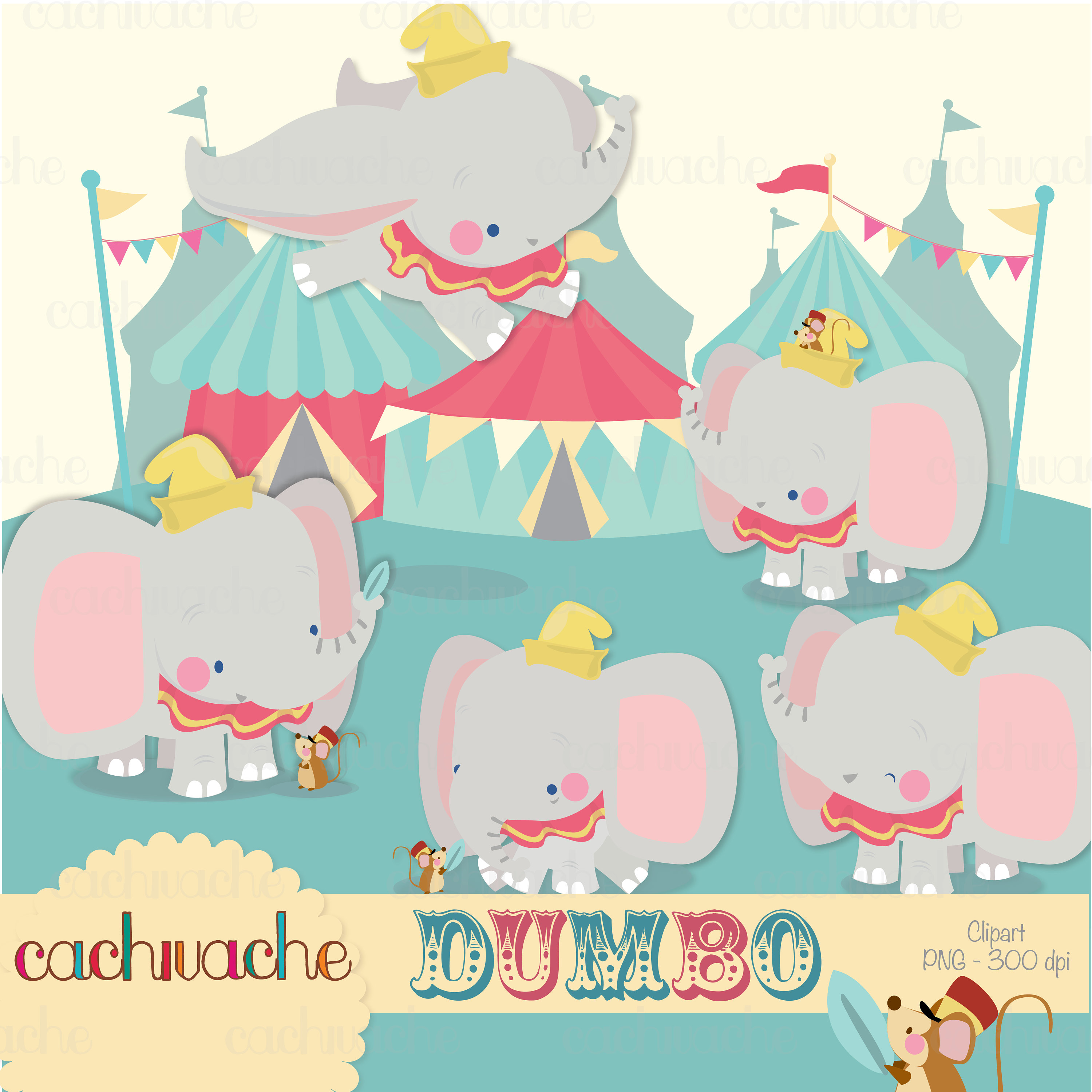 Dumbo clipart , Disney dumbo clipart, cute little elephant and circus  clipart PNG and JPG in HQ.