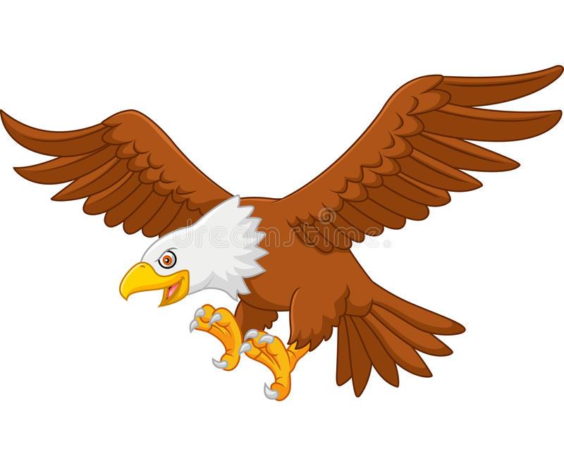 Eagle Flying Stock Illustrations.