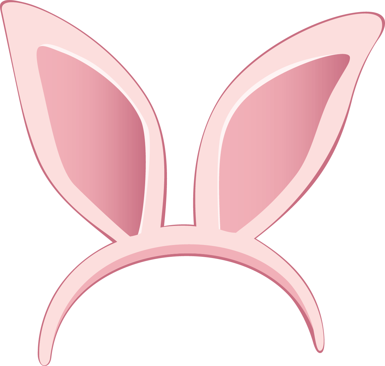 Ear Bunny Ears Clipart Collection Easter Mask Transparent Png.