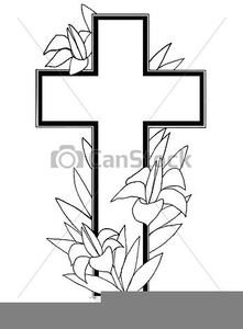 Easter Cross Clipart Free.