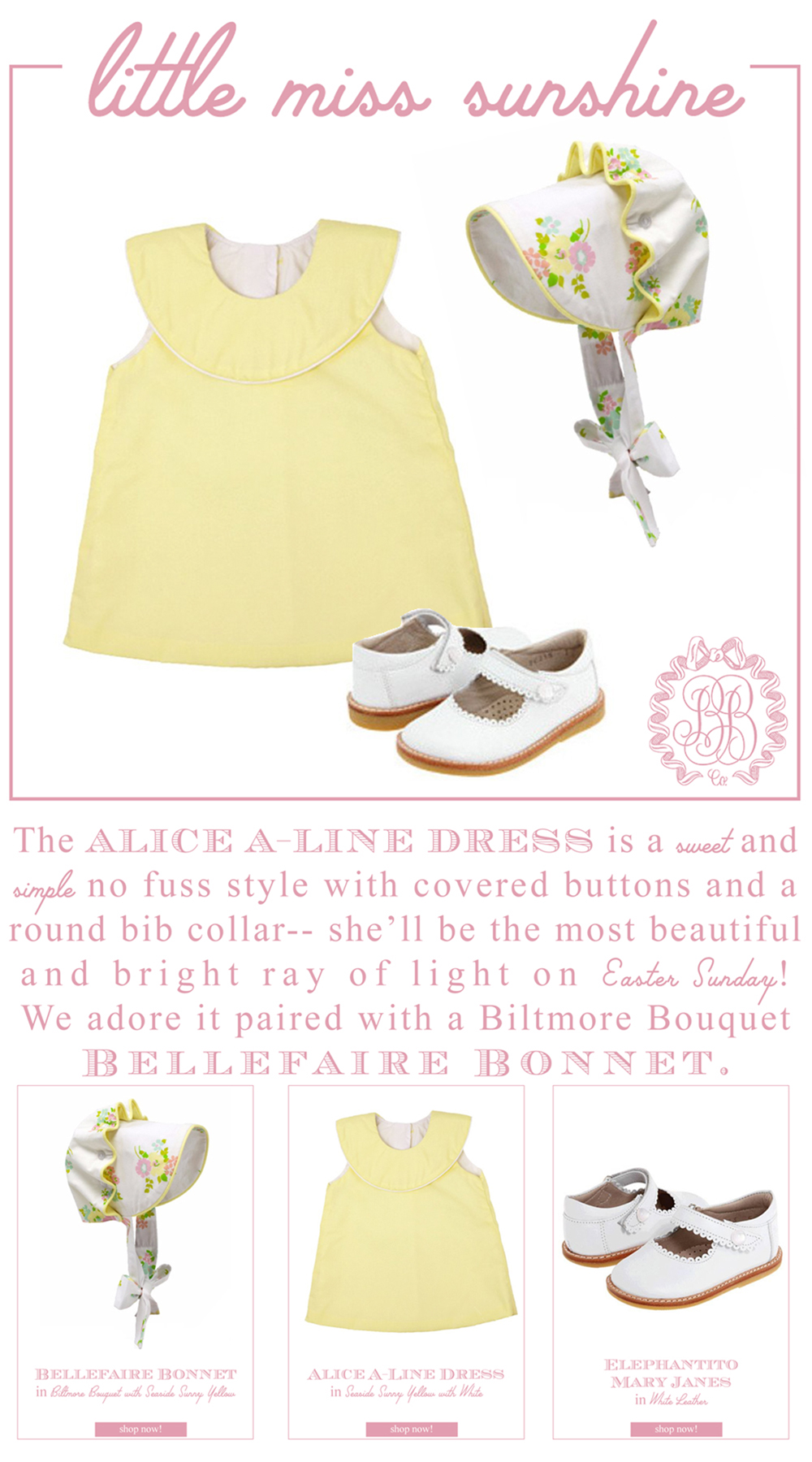 Easter Looks For Your Little Lady.