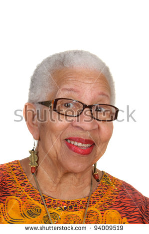 Elderly Black Stock Photos, Royalty.