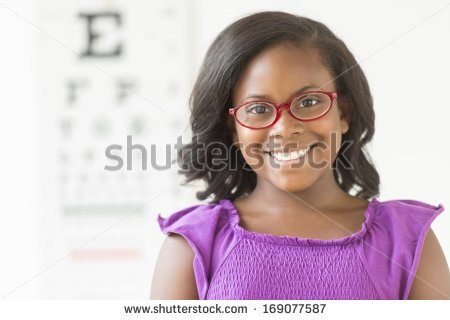 Clipart Of Elderly African American Woman Wearing Glasses.