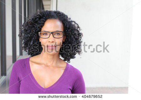 Older African American Woman Stock Images, Royalty.