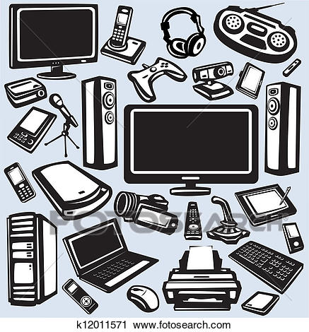 Electronics clipart 1 » Clipart Station.