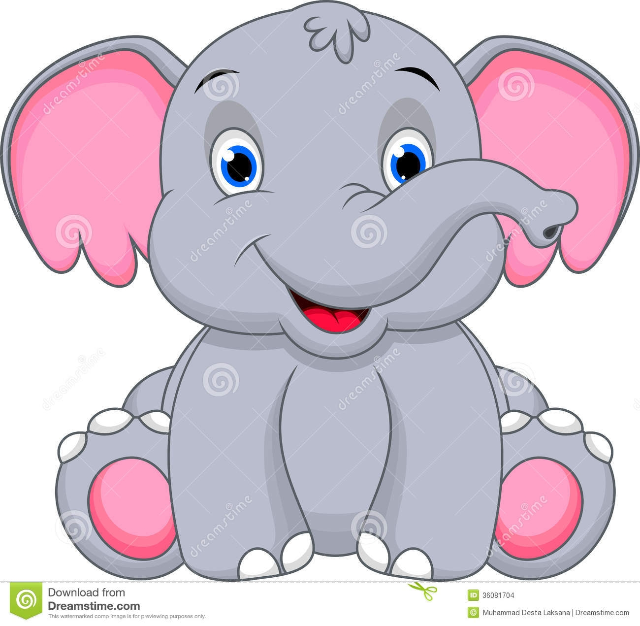 Similiar Elephant Face Cartoon Keywords.