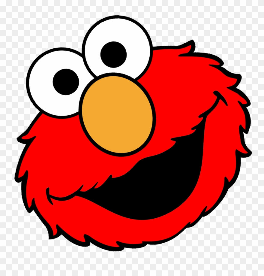 Elmo Face Clipart (#3209772).