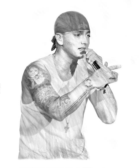 Eminem Portrait.