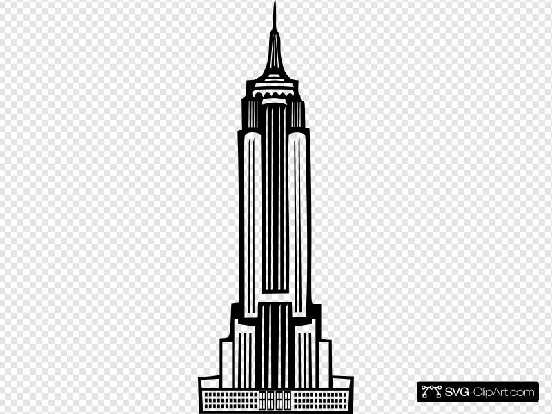 Empire State Building Clip art, Icon and SVG.