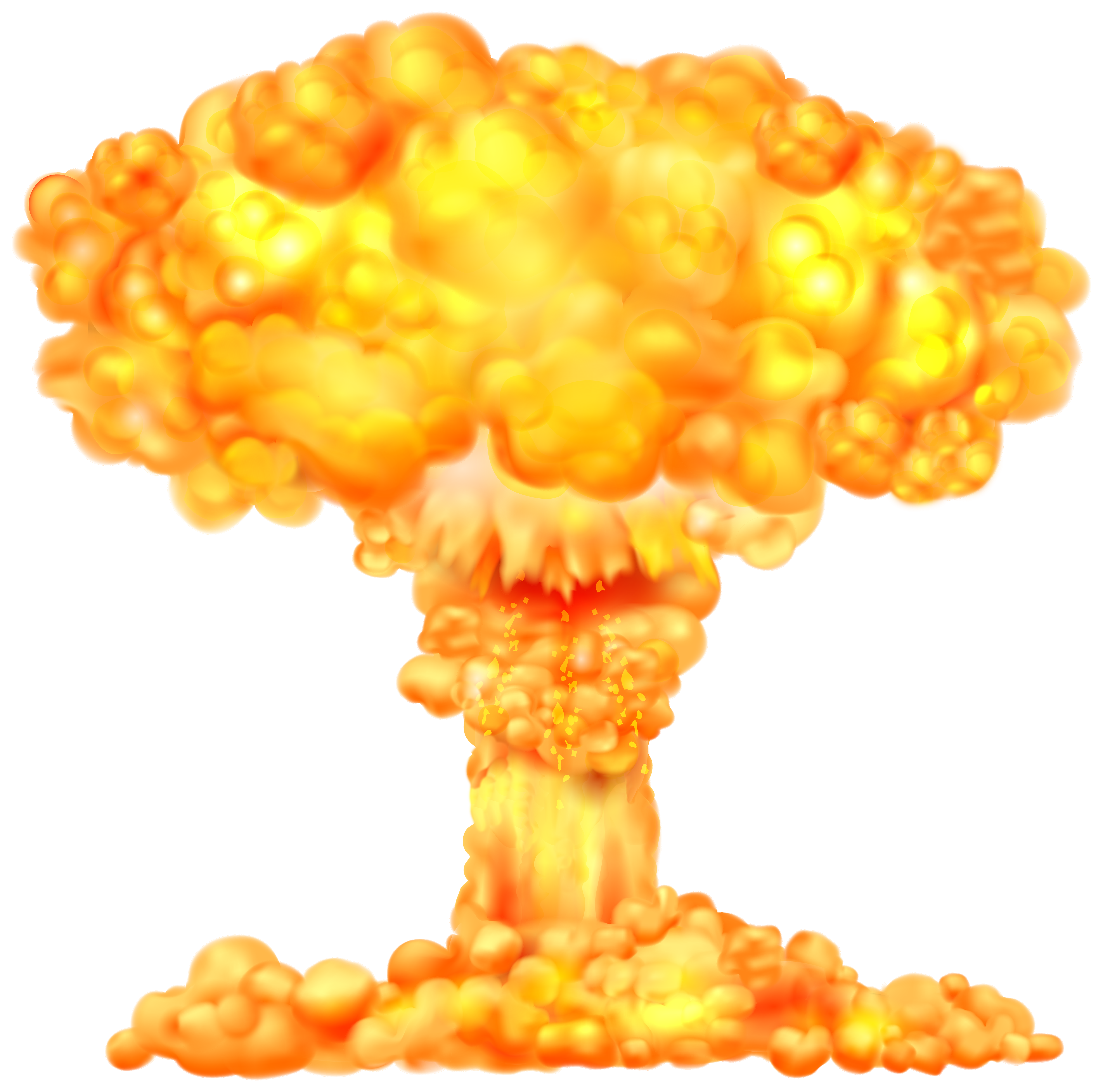 1743 Explosion free clipart.