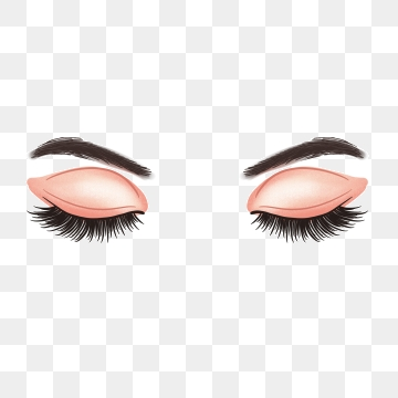 Long Eyelashes Png, Vector, PSD, and Clipart With Transparent.