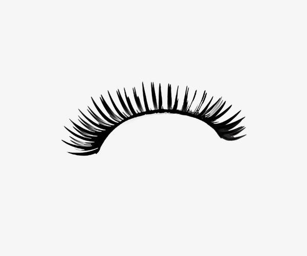 Bending False Eyelashes, Eyelash, Eye, Makeup PNG Transparent Image.