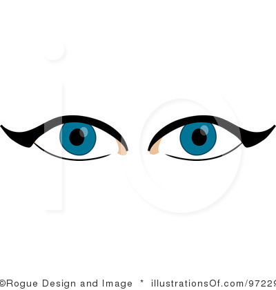 Blue Eyes Clipart.