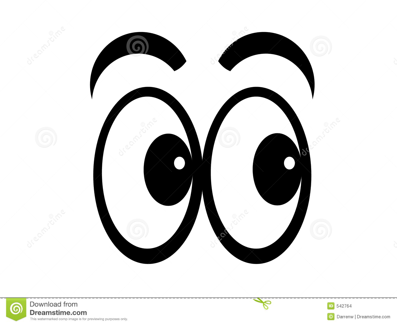 Eyes Are Watching Clipart.