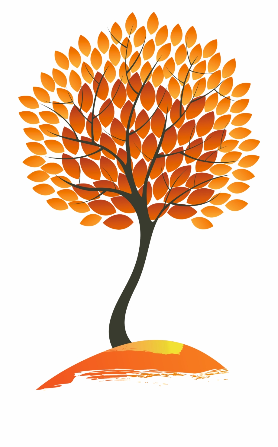 Autumn Trees Clipart Fall Tree Clipart Png.