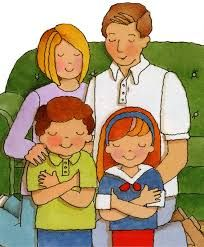 Image result for lds family praying clipart.