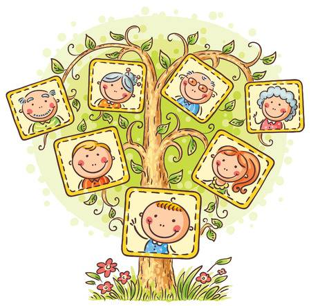 Family tree clipart 2 » Clipart Station.
