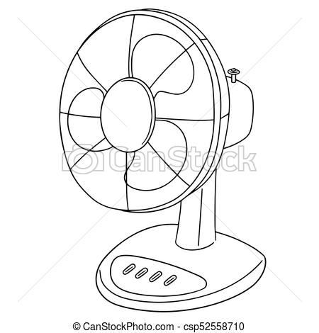 Clipart of fan 4 » Clipart Station.