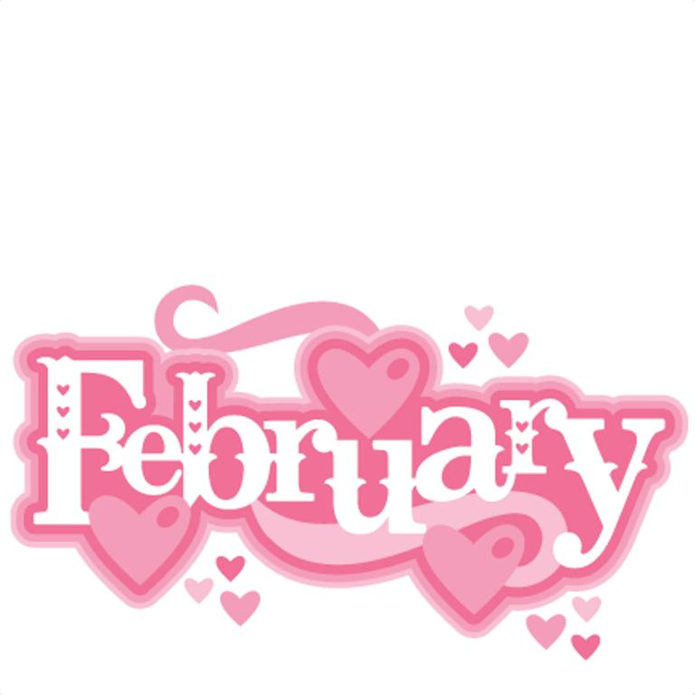 Free February Clipart Images.
