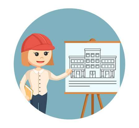 2,072 Female Architect Cliparts, Stock Vector And Royalty Free.