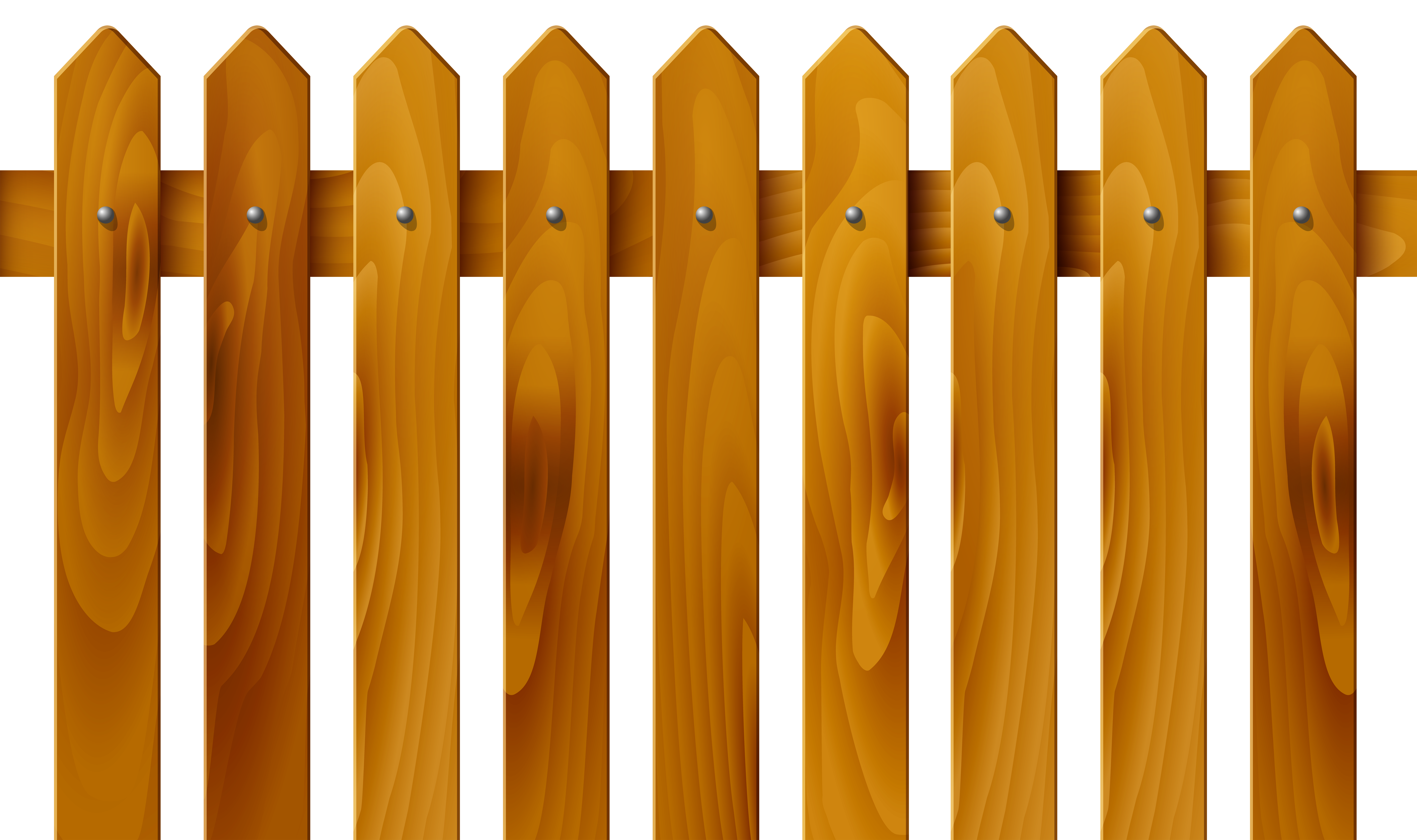 Fence PNG Clip Art Image.