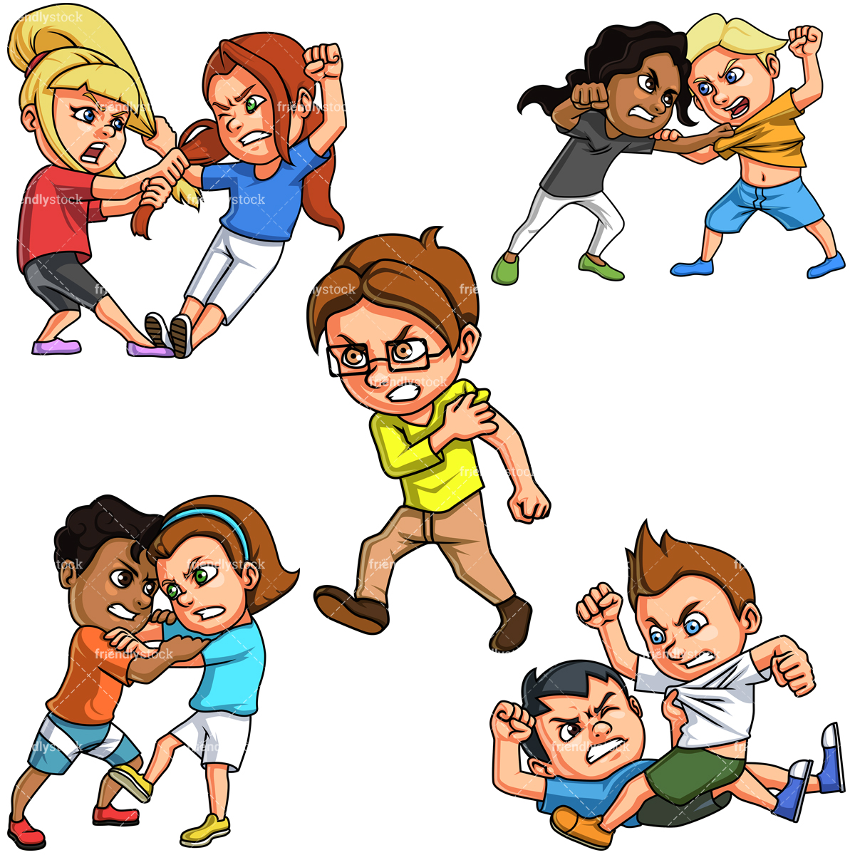 Kids Fighting Collection.