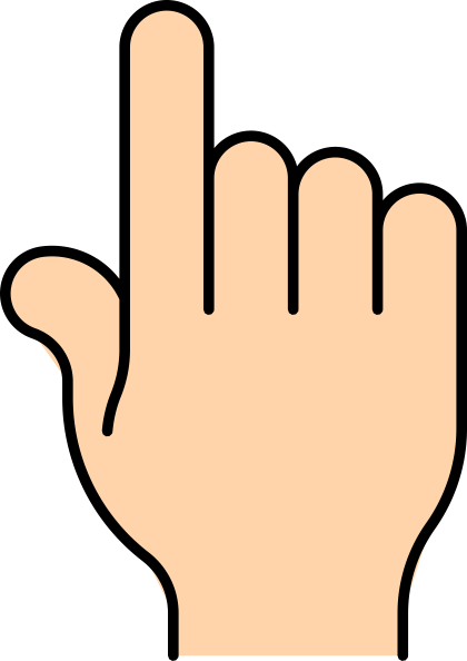 Pointing Finger Clip Art At Clker.