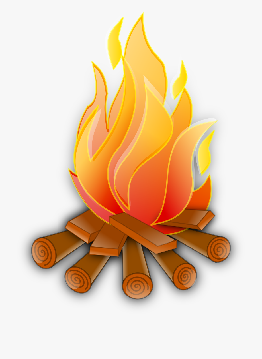Clipart Fire June Holidays Free Clip Art Images Flame.