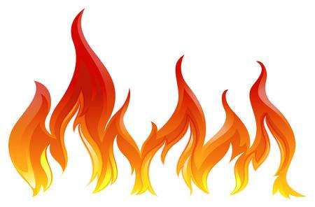 Fire flame clipart 1 » Clipart Station.