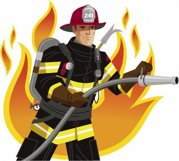 Free firefighter clipart pictures clipartix.