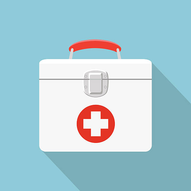 Best First Aid Kit Illustrations, Royalty.